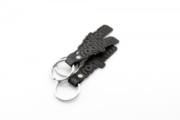 Rotiform Schlüsselanhänger - Leder schwarz