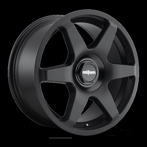 Rotiform SIX 8.5x19 Lk 5/112 ET45 Ml 66.6 schwarz matt