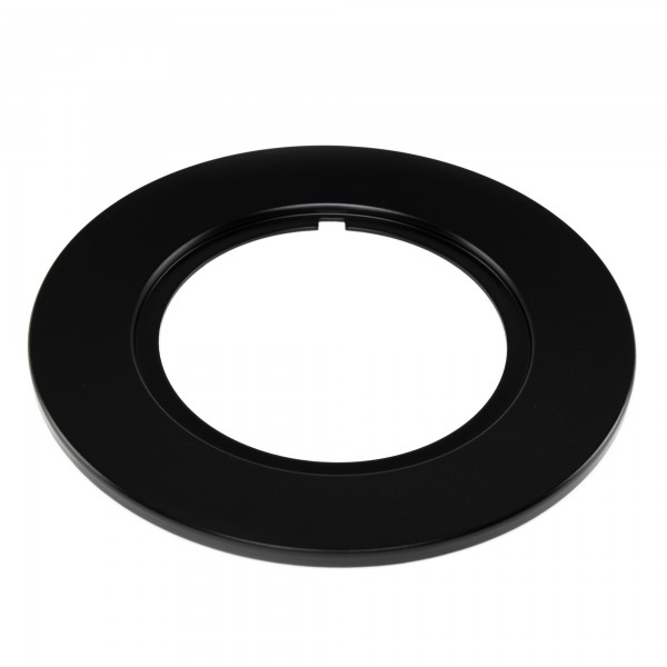 Rotiform LAS-R Lug Cover Plate - schwarz