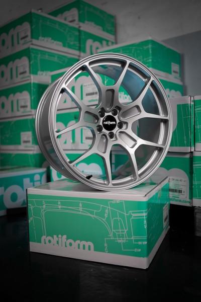 Rotiform FORGED TUV MONO ZMO 22X10.5 +23 SILVER