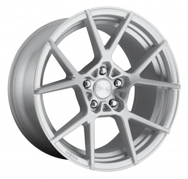 Rotiform KPS 8.5x19 Lk 5/112 ET40 Ml 66.6 / 57,1 Silber poliert