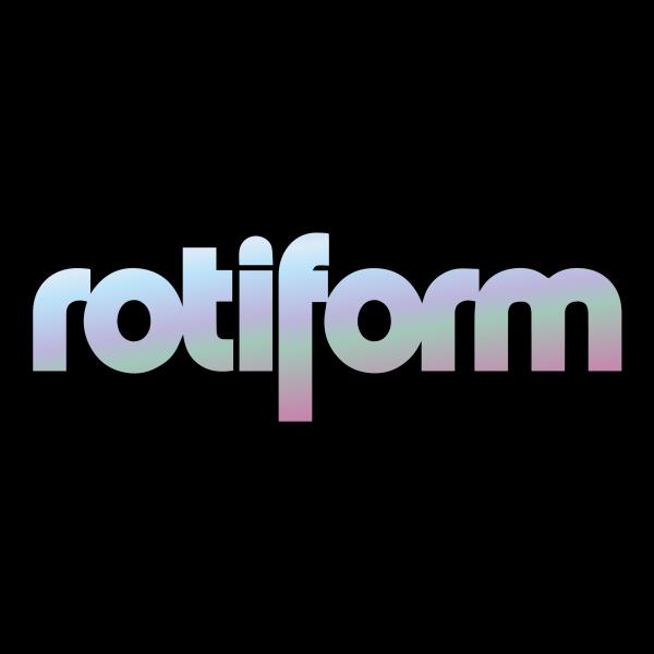 Rotiform Aufkleber Oilslick- mittel
